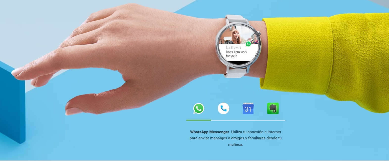 Android Wear pros