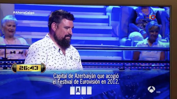 Un ex concursante de Ahora Caigo muestra en vídeo el tongo y doble rasero que podría tener el programa