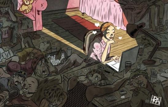 13 Imágenes que muestran la grave decadencia de los humanos en la sociedad actual